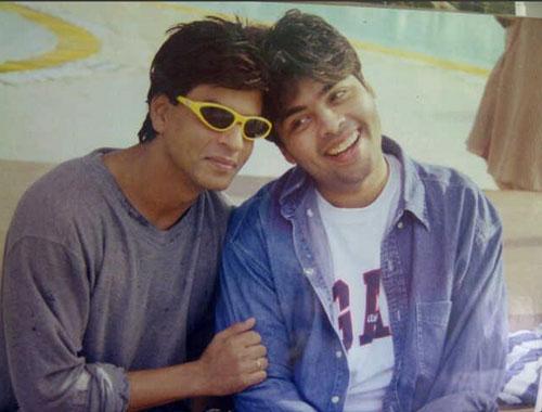 Shahrukh Khan and Karan Johar