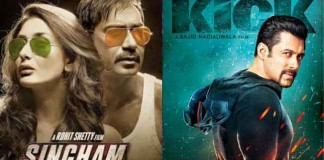 Singham Returns vs Kick : Box Office Comparioson