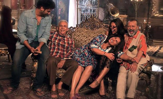 Still from Fanny Re lyrics video song - Finding Fanny