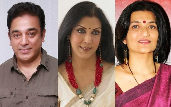 Top 16 Real Life Love Triaagles of Bollywood - Kamal Hassan - Sarika - Vani Ganpati