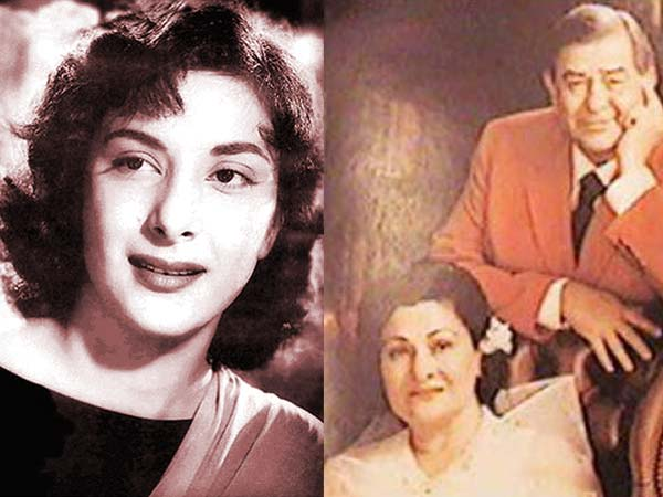 Top 16 Real Life Love Triangles of Bollywood - Raj Kapoor- Nargis - Krishna Kapoor