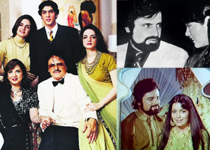 Top 16 Real Life Love Triangles of Bollywood - Sanjay Khan - Zeenat Aman - Zarine Khan