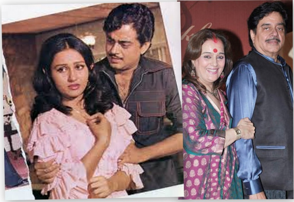 Top 16 Real Life Love Triangles of Bollywood - Shatrughan Sinha - Reena Roy – Poonam Sinha