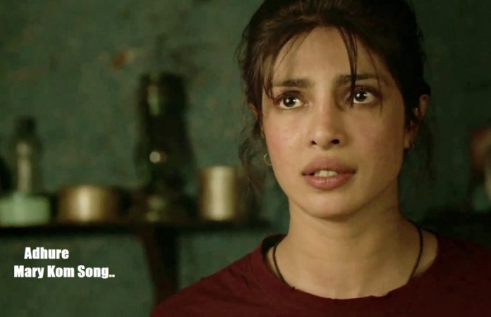 Priyanka Chopra in Mary Kom Adure Song