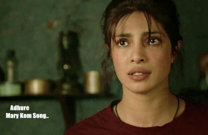 Priyanka Chopra in Mary Kom Adure Song