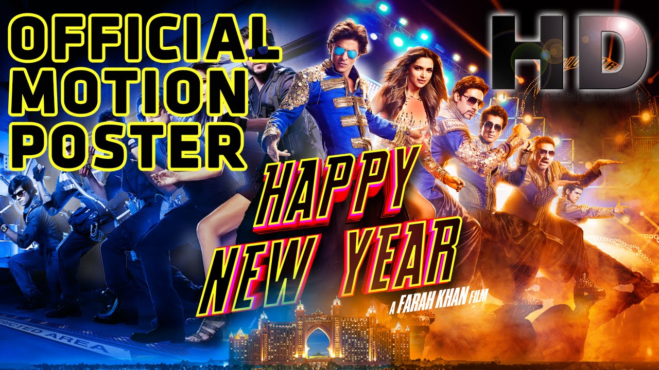 Happy New Year New Posters Out : Watch starcast of Happy New year in stylish avatar
