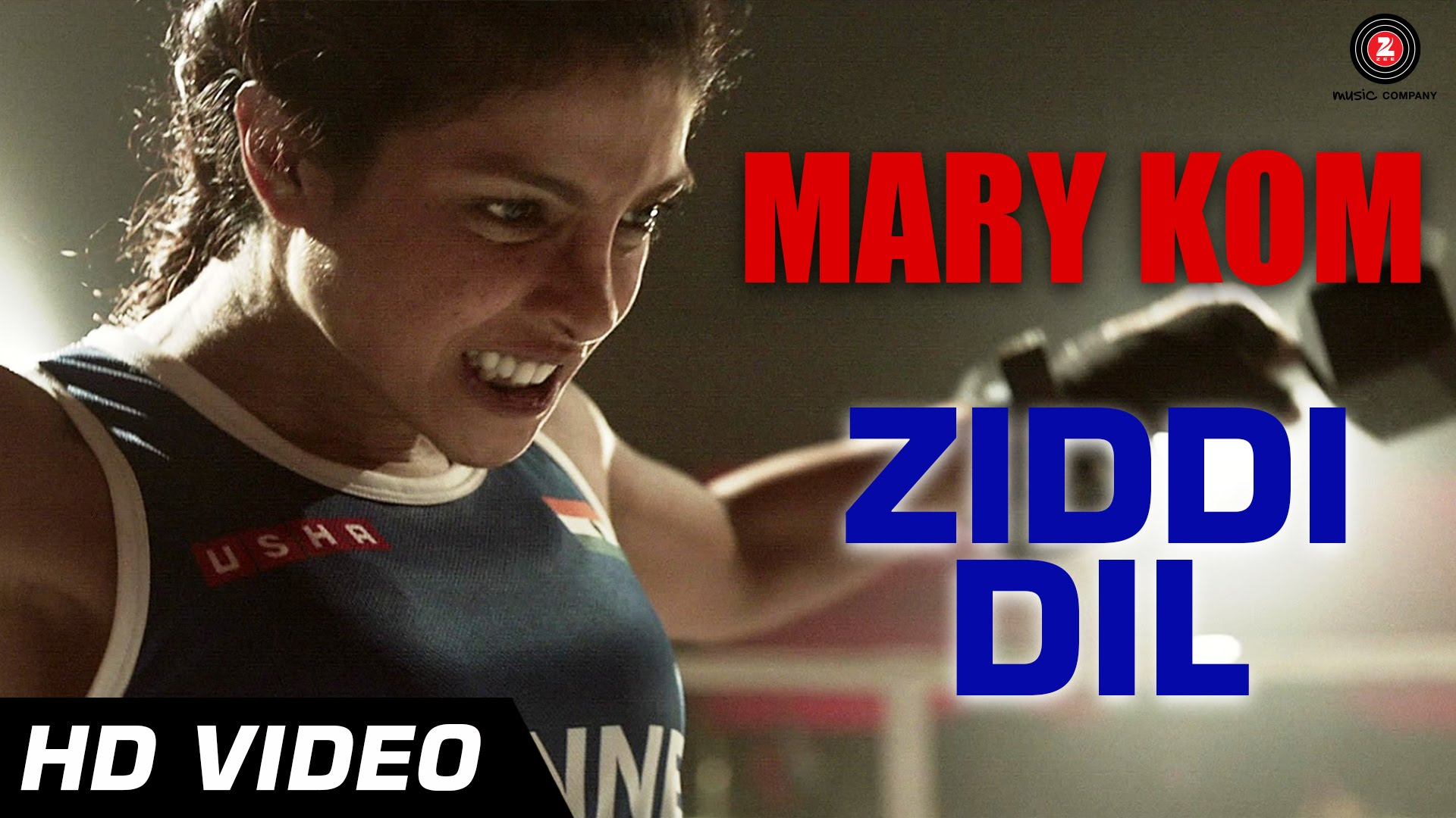 """Ziddi Dil"" video song Mary Kom"
