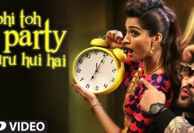abhi to party shuru hui hai song video
