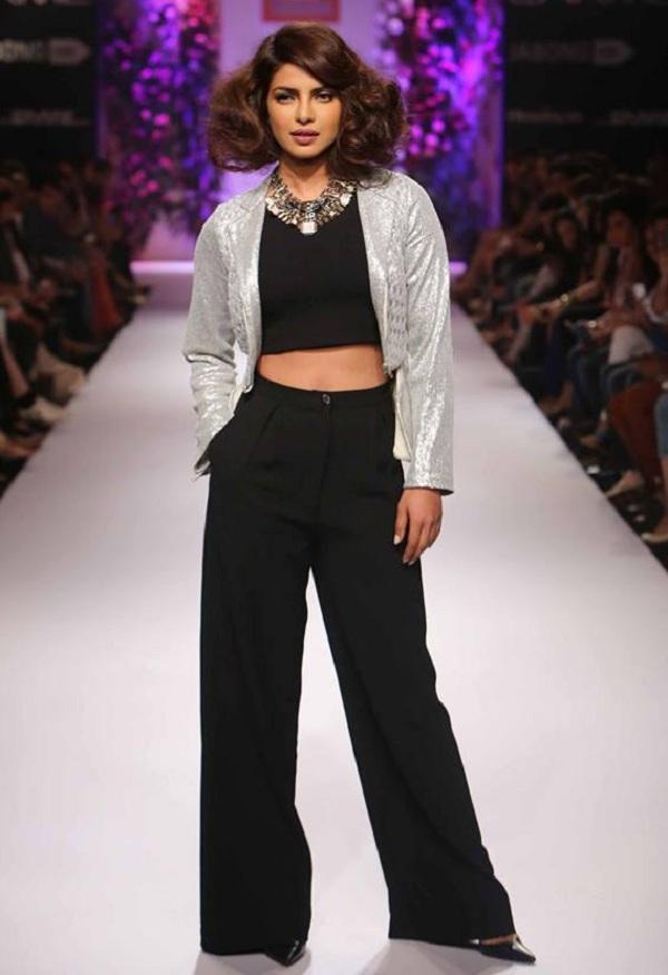 Priyanka Chopra walks for designer Varun Bahl