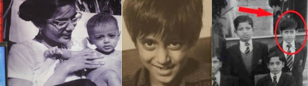 Childhood Pics of Salman Khan