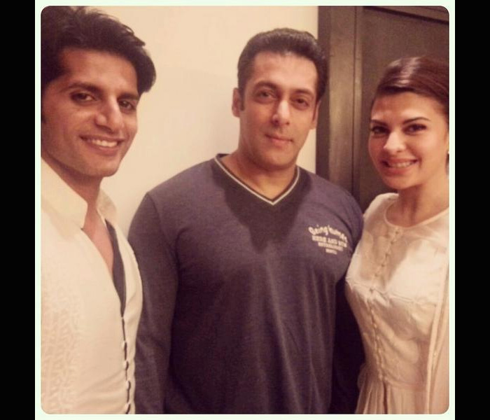 Salman Khan celebrates Eid with family and fans