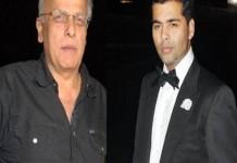 Mahesh Bhatt nominates Karan Johar for the Rice Bucket Challenge