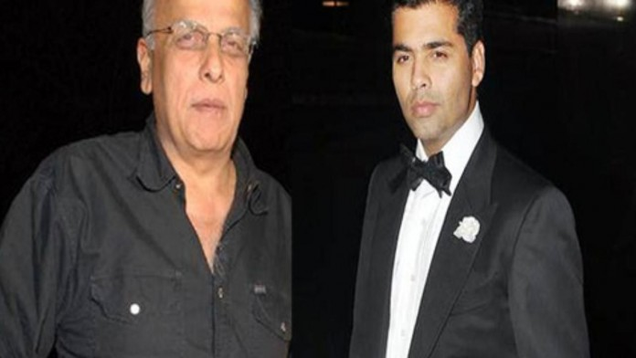 Mahesh Bhatt nominates Karan Johar for the Rice Bucket Challenge