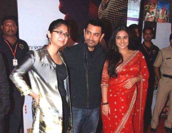 Aamir Khan and Vidya Balan
