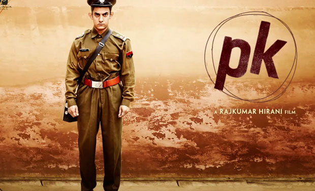 Aamir Khan in PK Motion Poster 3