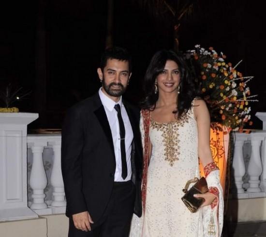 Aamir and Priyanka