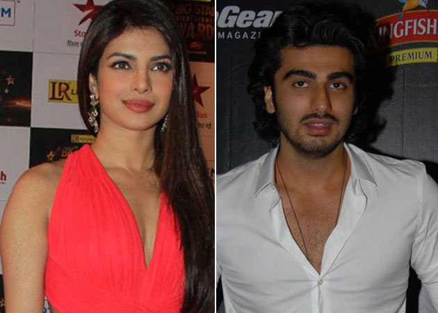 Priyanka Chopra best wishes to Arjun Kapoor for Finding Fanny