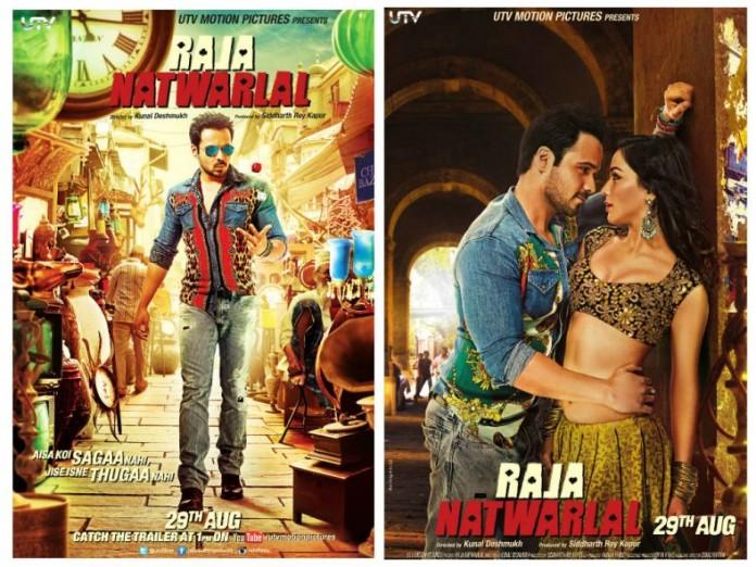 First Look Poster of Raja natwarlal