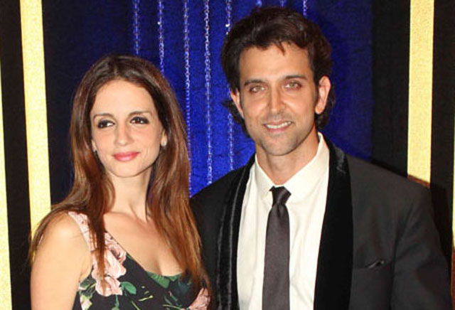 Hrithik Roshan and Sussanne