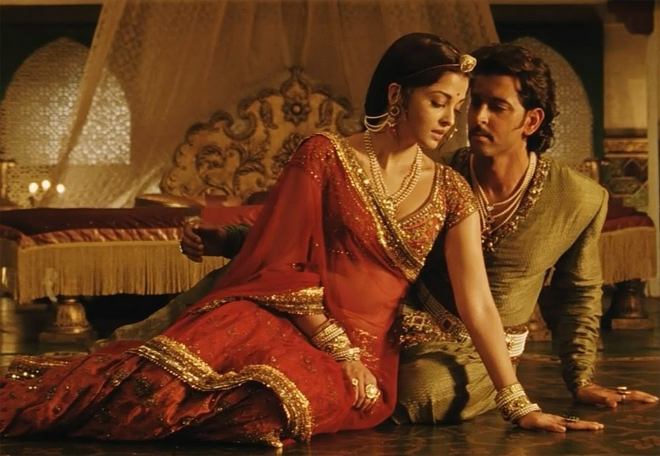 Hrithik and Aishwarya in Jodhaa Akbar