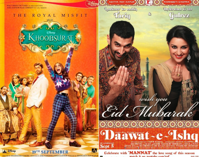 Khoobsurat vs Daawat-e-Ishq at Box Office this week