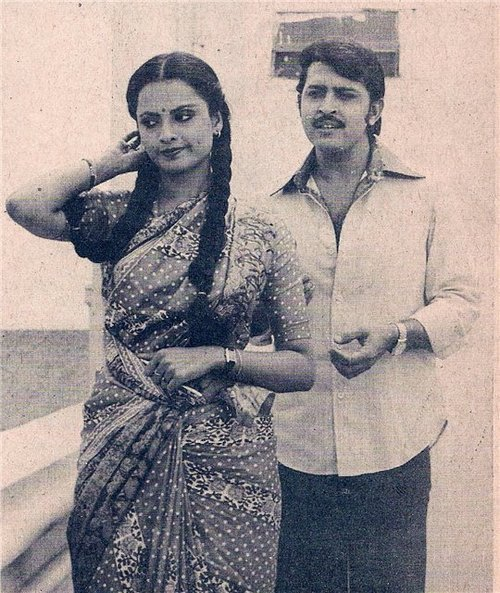 Birthday Boy Rakesh Roshan : 6th September - Rakesh Roshan With Rekha