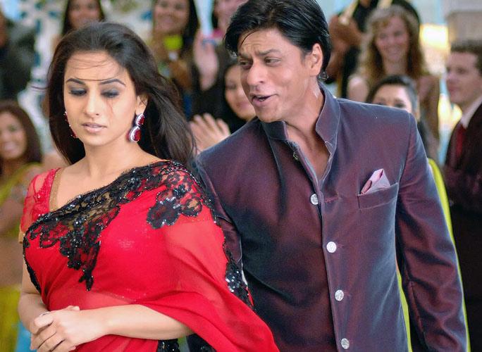 Shahrukh Khan and Vidya Balan