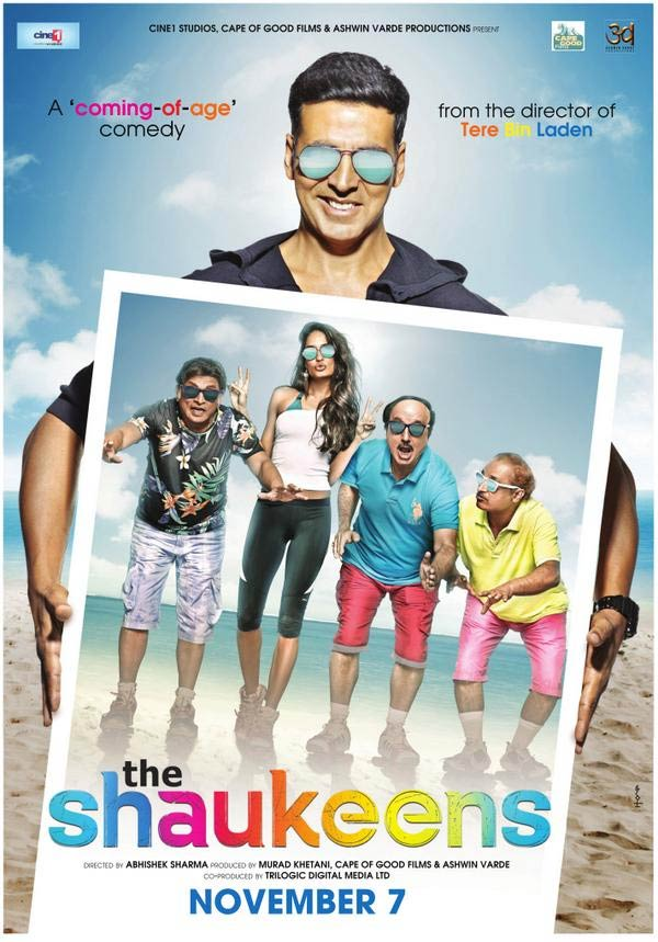The Shaukeens Poster - Akshay Kumar and team