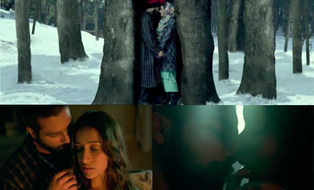 Khul Kabhi video song - Haider : Shahid and Shraddha's intense love making