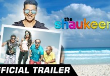 The Shaukeens Trailer Poster