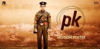 Pk Motion poster 3 - Aamir as policewala