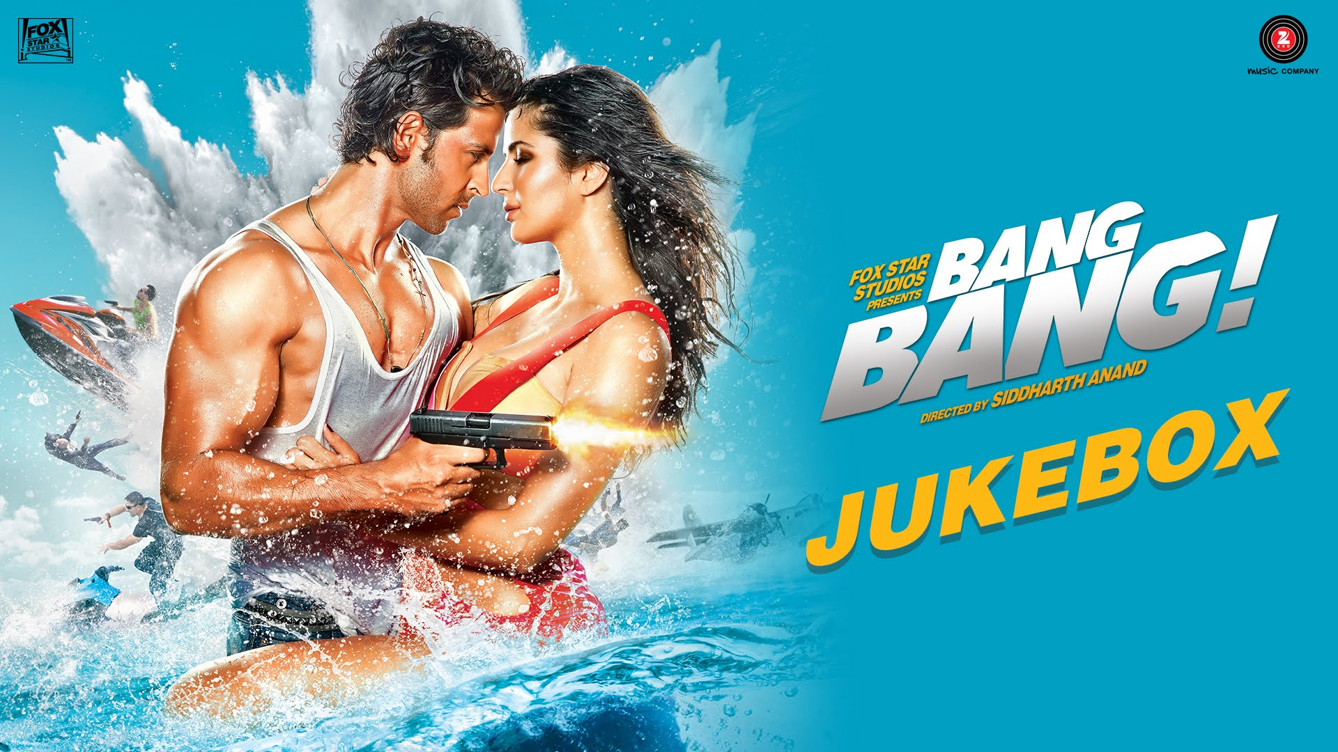 Bang Bang full audio songs jukebox and soundtrack