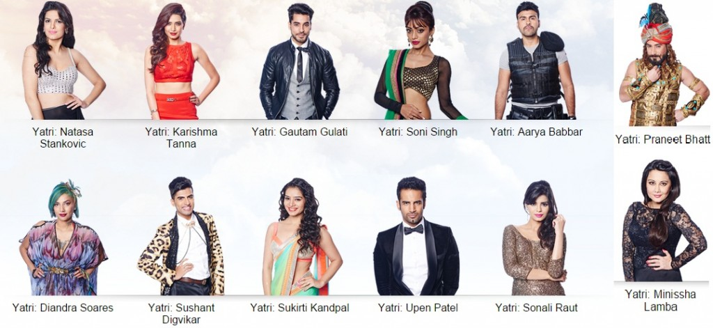 opening ceremony of Bigg Boss Season 8