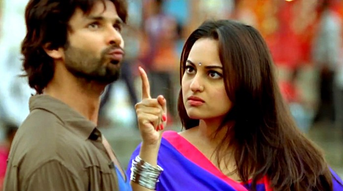 sonakshi sinha shahid kapoor r rajkumar movie box office collection