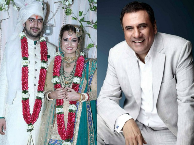 Boman is a father like figure to Dia Mirza