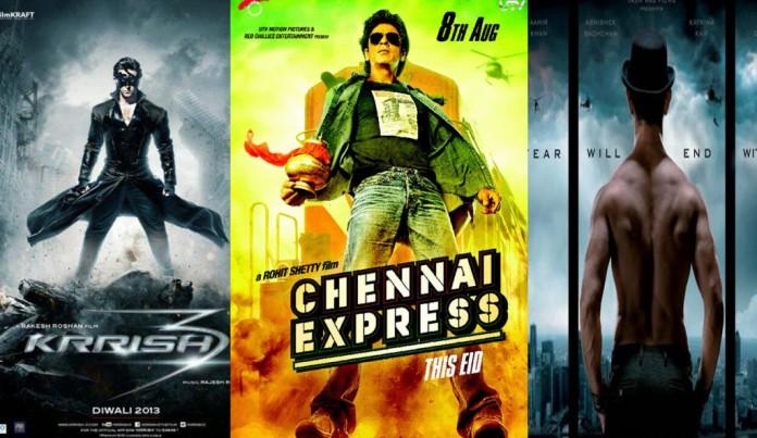 Happy New Year vs Dhoom 3 vs Chennai Express vs Krrish 3 - Box Office Comparison