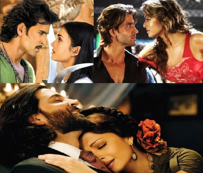 Hrithik Roshan's hot sizzling chemistry with Salman Khan's ex- gf- Aishwarya