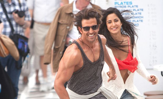 Hrithik and Katrina in Bang Bang movie
