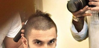 Ranveer Singh Goes Bald for Bajirao Mastani