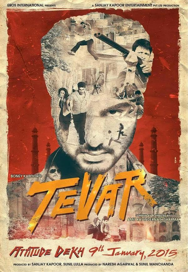 Tevar First Look Poster