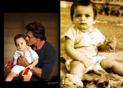 Shah Rukh Khan tweets youngest son AbRam's pic on Eid ul Adha