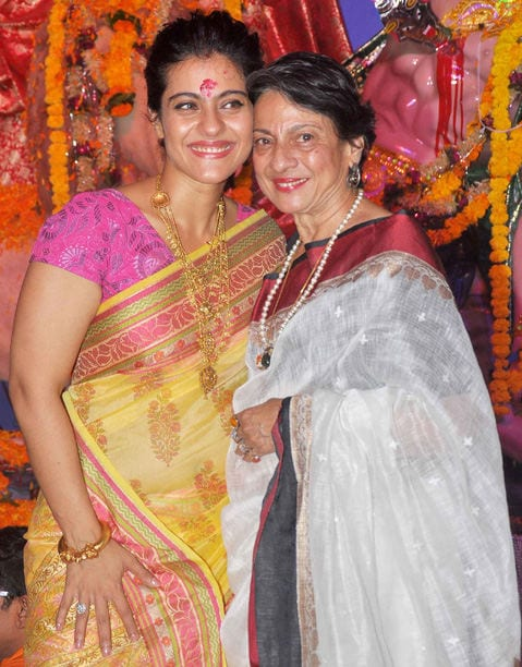 Bollywood Divas celebrate Durga Pooja - Kajol