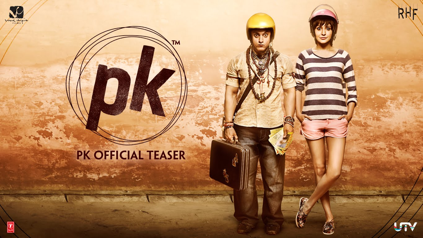 PK Teaser Trailer Review : It's Wacky and Quirky