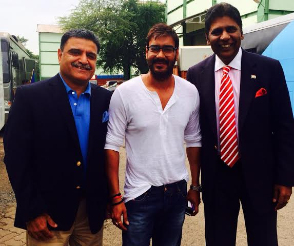 Ajay Devgn Co-Owns Delhi Dreams in Champion Tennis League!!