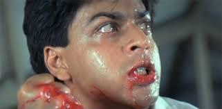 SRK in Baazigar