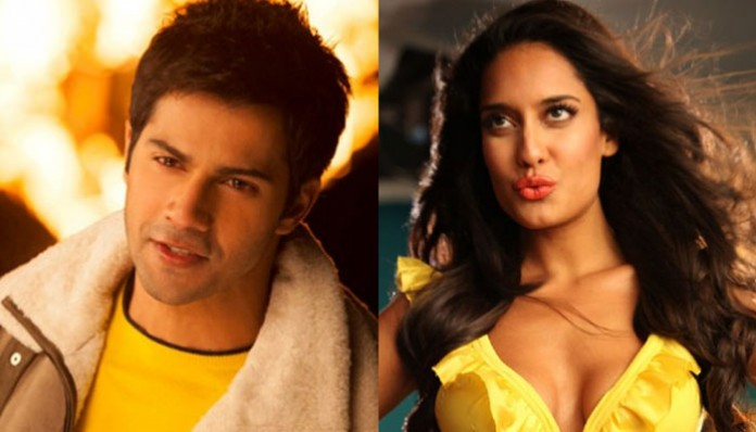 Varun Dhawan and Lisa Haydon
