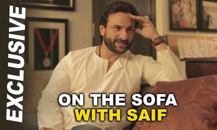 Saif interviewing Saif : An absolute fun video