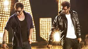Ajay Devgn and Prabhu Deva in Action Jackson