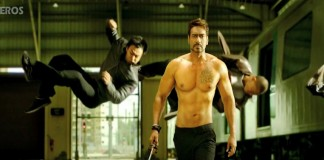 Ajay Devgn in Action Jackson movie still