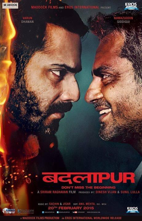 Badlapur Third Poster feat. Varun Dhawan and Nawazuddin Siddiqui